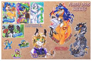 COM: FurDU 2015 Badge Orders! by carnival