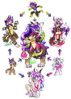 HEXAFUSION: Anthro Candy Mixed Bag! by carnival