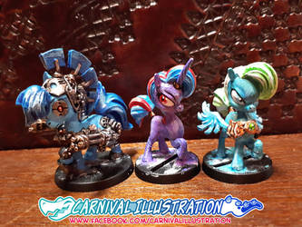 Pony Minis Paint: Fire up the WAR MACHINE! by carnival