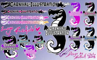 Carni Illust' Logo 2018 revamp by carnival