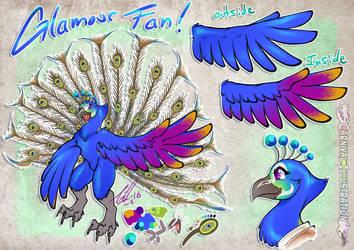 COM: Glamour Fan Ref Sheet by carnival