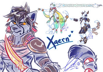 COM: Xaern Scribbles! by carnival