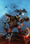 Nephilim (game cover alt.) by dartbaston