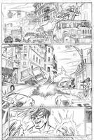 Ultimate Spiderman page 2 by adampedrone8