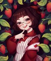 Strawberries by BiShakalaka