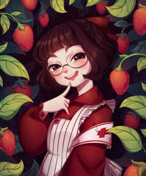 Strawberries by BiShakalaka