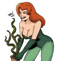 Poison Ivy american style by bleyerart
