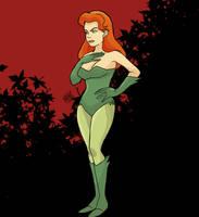 Poison Ivy Batman TAS by bleyerart