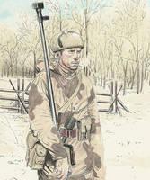 ww2 soviet anti armor by JesusFood
