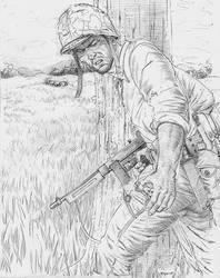 Gung Ho Marine by JesusFood