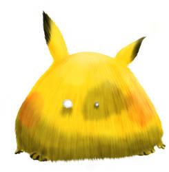 pikachu fat by melonsmasher