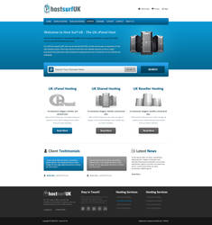 Web Hosting Template by esr360