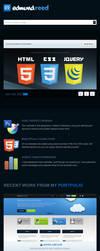 Responsive Homepage by esr360