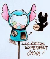 Lilo and Stitch Experiment Pod Gacha by MothrNaturesMistakes