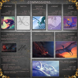 Commissions info [CLOSED] by AverrisVis
