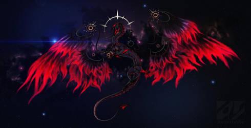 Ka'mides - the god of destruction by AverrisVis