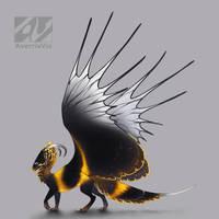 Dragon design: Bumblebee by AverrisVis