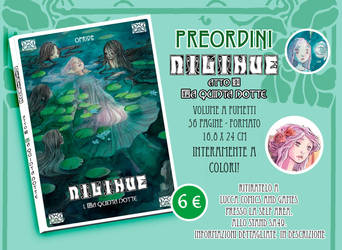 PREORDER NILIHUE' comic book by Ofride