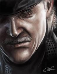 Metal Gear Solid 4 by zamboze