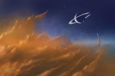 Cloud Hobbing by ShootingStarLogBook