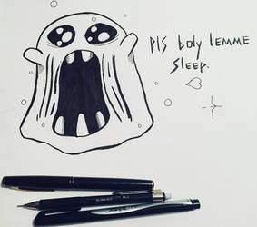 Tired Ghost. by CHESHyRE1