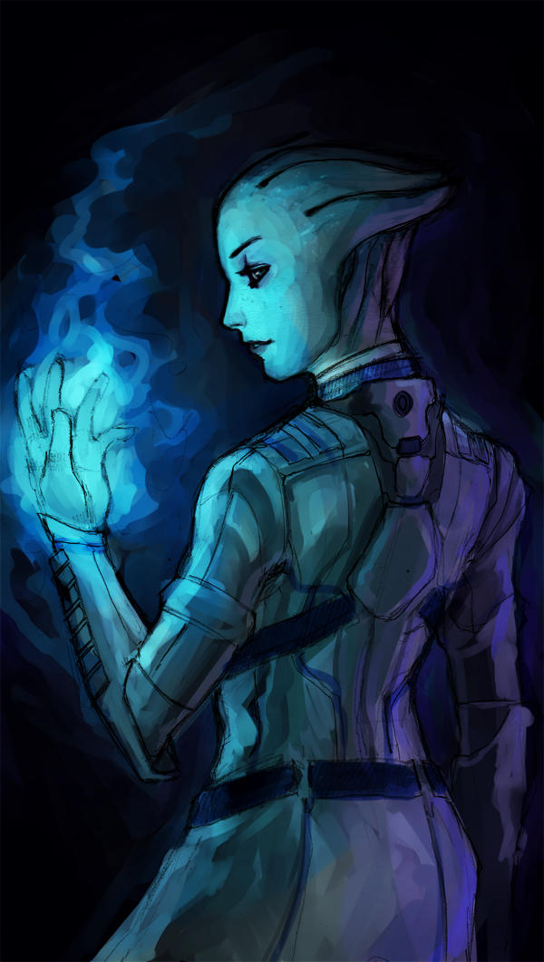 Dr. Liara T'soni by TheBoyofCheese
