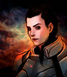 Fem Shepard Being Awesome by TheBoyofCheese