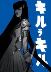 Satsuki - Kill la Kill by TheBoyofCheese