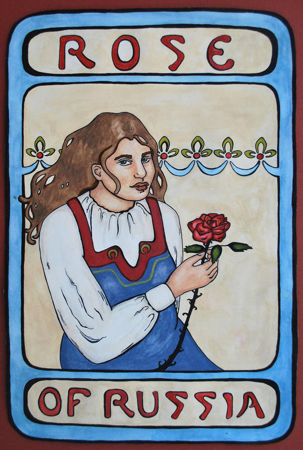 Rose of Russia by zheyna