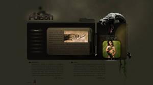 Animals webdesign series Snake by inankilic