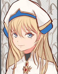 Priestess by Sikyll