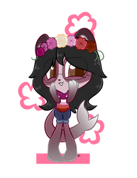 Chibi Esther Roses by GreenSphereCon
