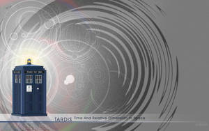 T.A.R.D.I.S. wallpaper by evionn