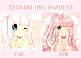 Draw this again! by bunbby