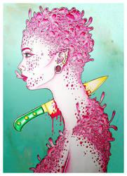 Pink Bubbles by Loodlez