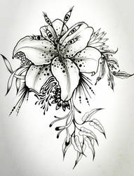 Trippy Lily by Loodlez