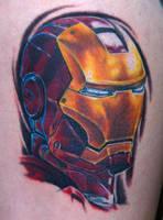 iron man by optimuspint