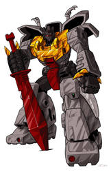 Transformers Grimlock  by optimuspint