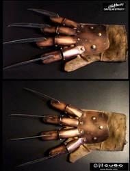 Freddy Krueger gloves 1-4 by williamnezme