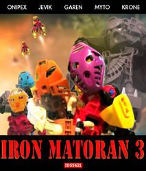 Iron Matoran 3 poster by larnuu