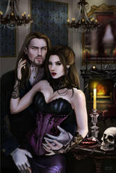 revamp gothic victorian couple by SYoshiko