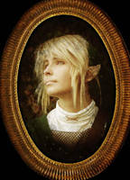 Link Cosplay - male make-up by Eressea-sama