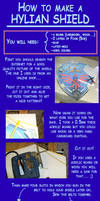 How to make a Hylian shield by Eressea-sama