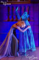 An act of true love - Elsa Cosplay - FROZEN by Eressea-sama