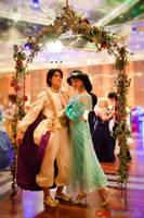 Arabian Nights - Princess Jasmine Cosplay by Eressea-sama