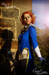 Captain Amelia Cosplay - All abord! by Eressea-sama