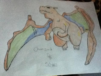 charizard by winterwolve