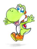 Friendly Dino by DreamyDawn65