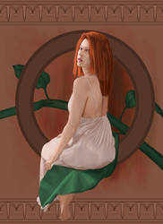 Sitting Red by tristanrocks