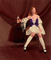 :: costume :: barmaid by tristanrocks
